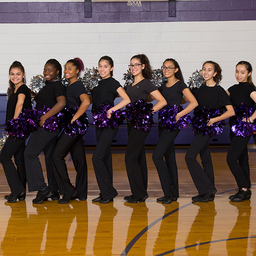 Poms Team Takes Competition Top Spots