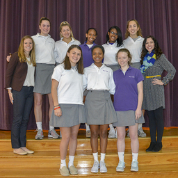 Three Holy Cross Teams Participating in LLS Student of the Year Campaign