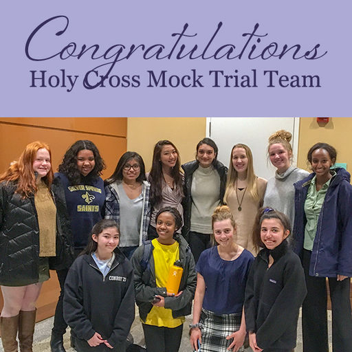 Mock Trial Team Wins First Round Competition