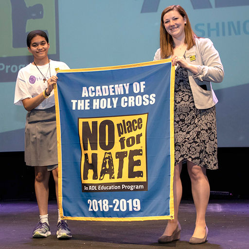 Holy Cross Recognized as No Place for Hate School