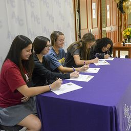 Tartan Athletes Commit to Play Division I Sports in College
