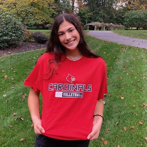 Hannah Sherman '22 Commits to Play Volleyball at Louisville