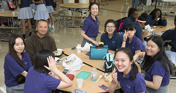 Welcoming International Students - The Academy of the Holy Cross